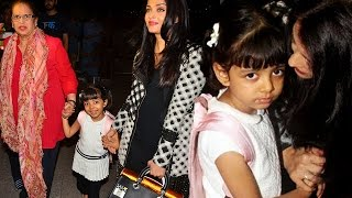 Aishwarya Rai Leaves For Cannes 2016 with Baby Aaradhya