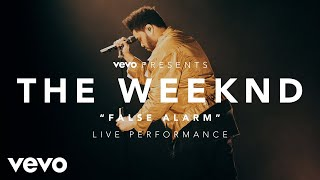 The Weeknd False Alarm Vevo Presents