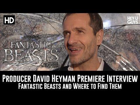 Fantastic Beasts Premiere - Producer David Heyman Interview