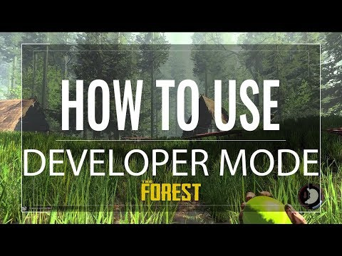 The Forest - How To Use Developer Mode