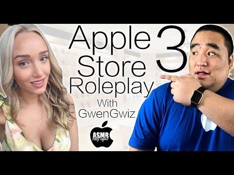 [ASMR] Apple Store Roleplay 3 (w/GwenGwiz) | MattyTingles