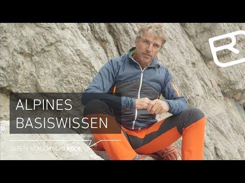 Grundwissen Alpinklettern -