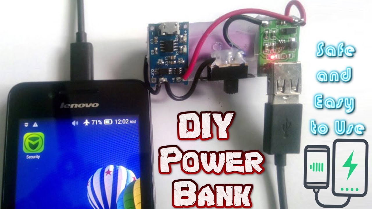 Power Bank Circuit Youtube Simple Nicd Battery Charger Electronic Circuits