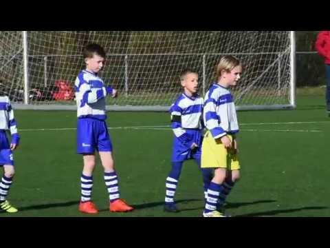 OLIVEO JO9-8 - RKDEO JO9-14  #jeugdvoetbal in #Pijnacker-Nootdorp