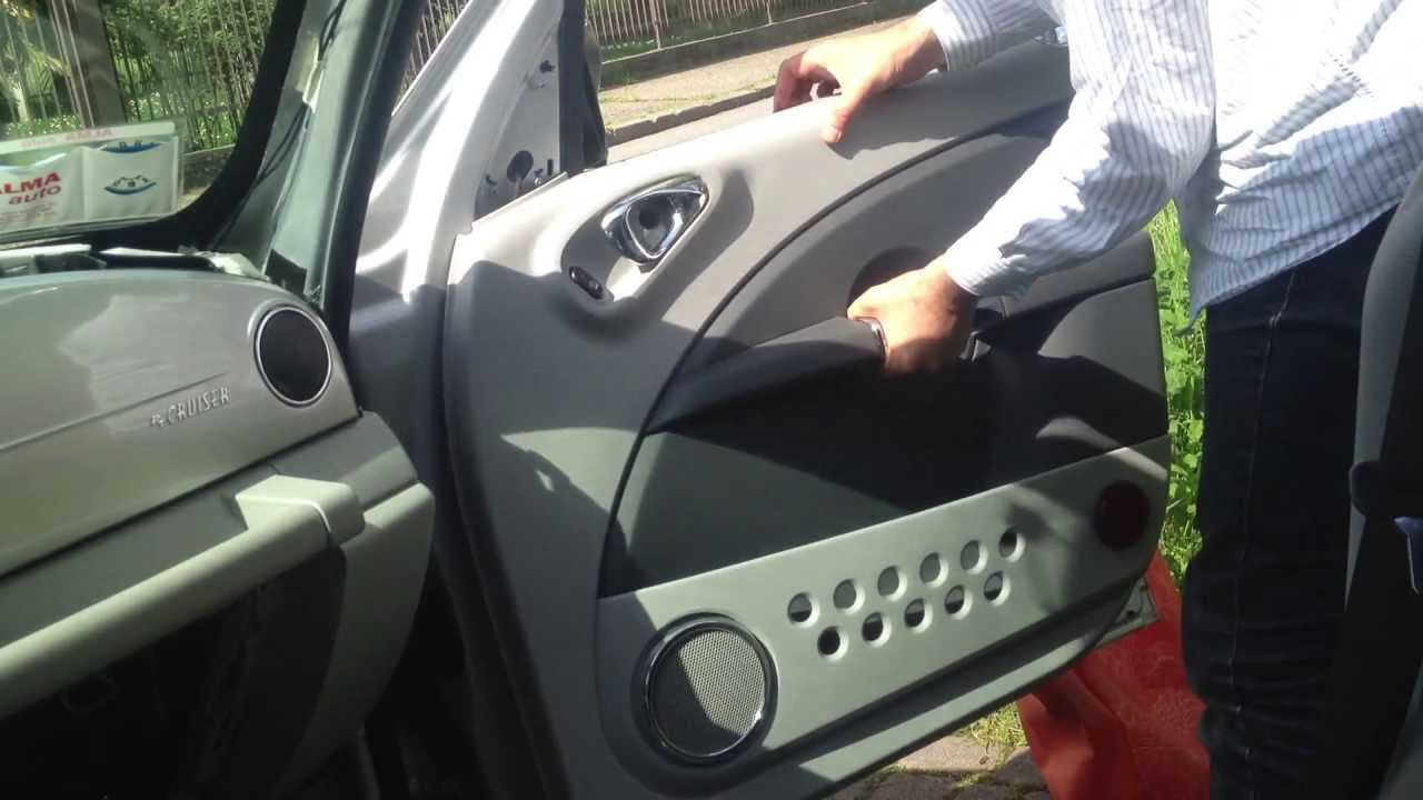 Fuse Diagram Removing The Door Panel On The Chrysler Pt Cruiser 2006