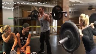 Stephen Amell & Emily Bett Rickards Training - Do My Thang