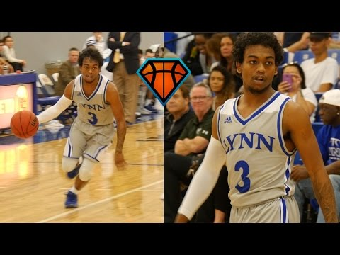 Juwan Frazier Goes For 17 & 5 In His College Debut!! | Lynn University Highlights