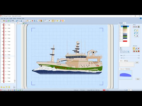 FBC 6d Premier Design Creator embroidery software overview