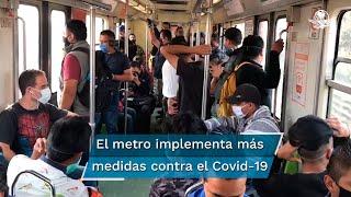 El organismo capitalino recordó que como medida preventiva para reducir el flujo de personas en la zona, las estaciones Merced de la Línea 1 y Allende de la Línea 2 continúan cerradas
