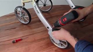 Let's Go Out Rollator Change Brake Wire