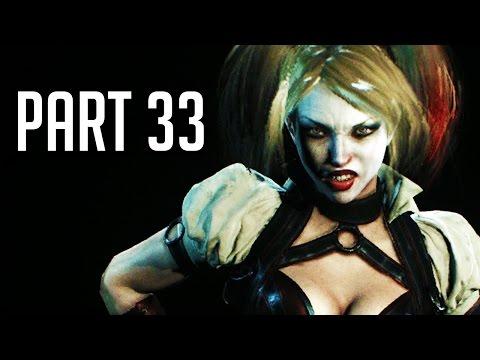 Batman Arkham Knight Walkthrough Gameplay Part 33 - Harley Gets Serious (PS4/XB1/PC 1080p HD)