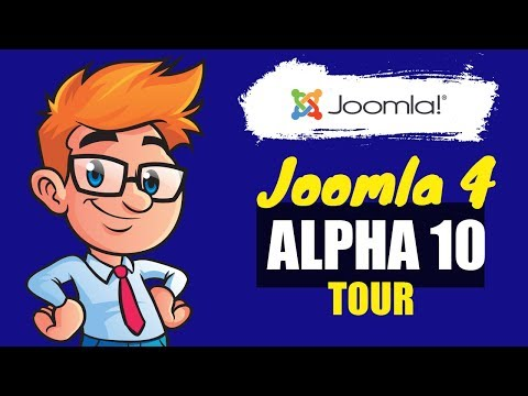 Joomla 4 Aplha 10 Walk Through - Check Whats New In This Release