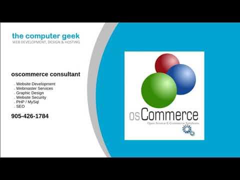 oscommerce consultant