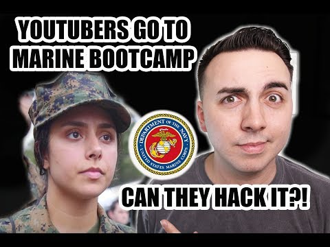 MILITARY GUY REACTS TO MICHELLE KHARE AT MARINE BOOTCAMP?!