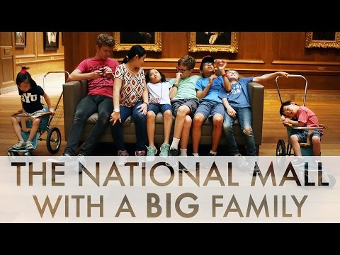 Washington D.C. and the National Mall with 9 kids! : RV Fulltime