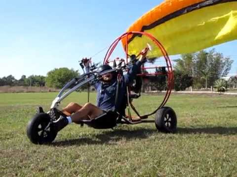 Larry Herman - Certified PPG2 Powered Paraglider Trike Pilot -Planet PPG  Trained
