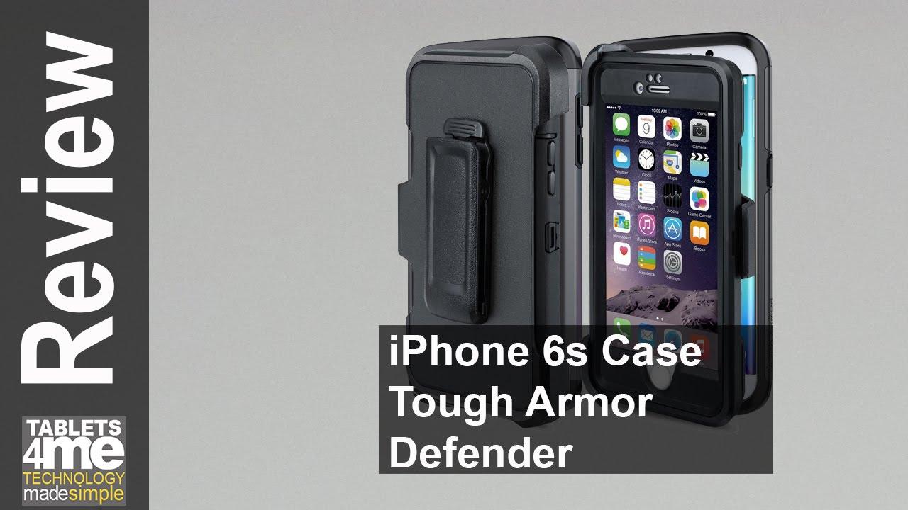 finest selection 72ea5 153ac MBLAI iPhone 6s Case Tough Armor Defender