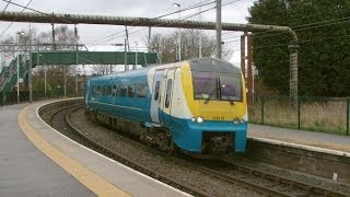 Half an Hour at (15) - Earlestown Station 2.3.2014 Newton le Willows Class 66 175 track relaying