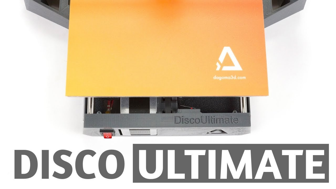 Disco Ultimate - la nouvelle Imprimante 3D Dagoma en kit