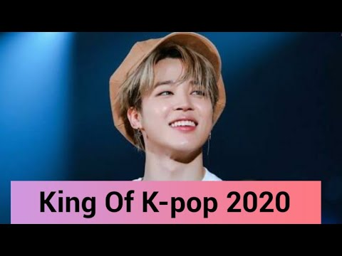 King Choice Crowned BTS singer Jimin as 'The King of Kpop' 2020.