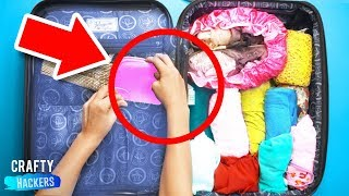 10 BRILLIANT TRAVEL HACKS THAT WILL SAVE YOU TIME AND MONEY!!
