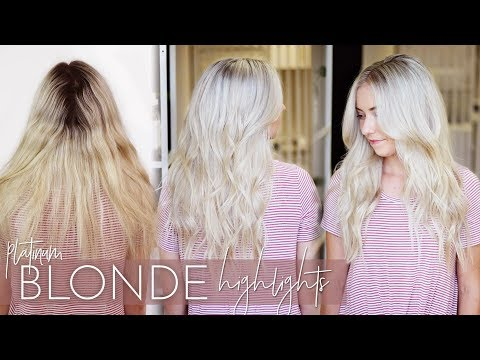 Platinum Blonde Highlights - My Favorite Highlighting Technique (Formulas included!)