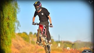 MY FIRST PITBIKE RACE!!