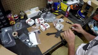 xHover Stingy Build -Part 1 Arms, Motors, and ESC'S