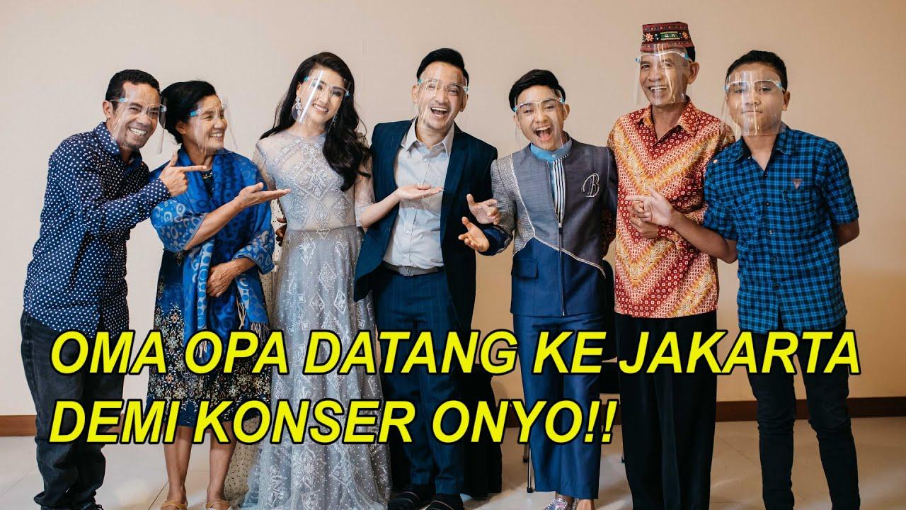 The Onsu Family - Oma Opa datang ke Jakarta demi Konser Onyo!!