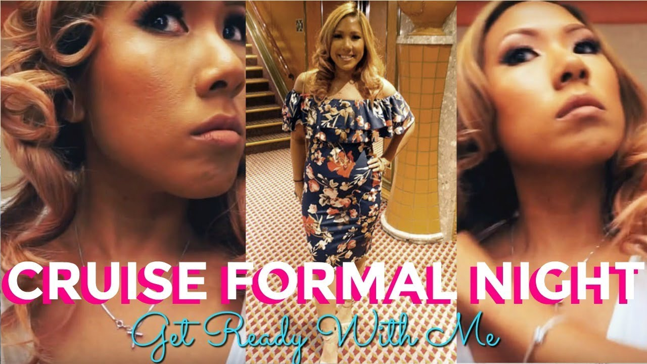 Get Ready With Me Carnival Liberty Formal Night Youtube
