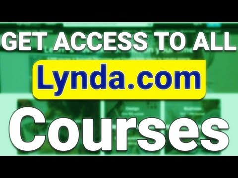 How To Make LYNDA PREMIUM ACCOUNT Free For Life Time - Get ACCESS To All LYNDA COURSES 100 % Working