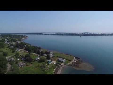 Harpswell Maine Aerial Tour