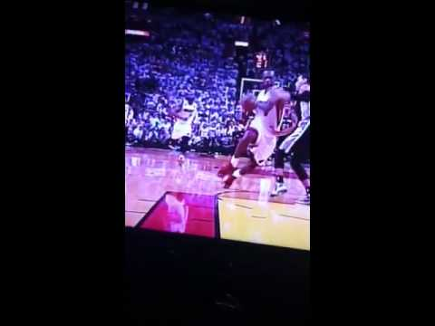 Lebron James critical mistake in game 6