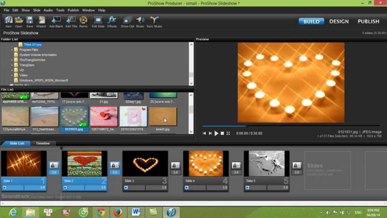 Video hướng dẫn cách sử dụng phần mềm proshow producer