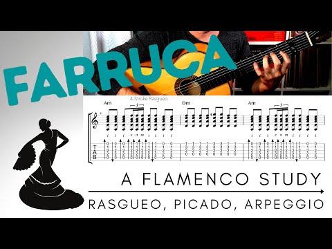 Farruca - Flamenco Guitar Study