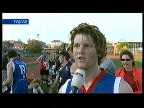 Czech Footy TV interview - TV NOVA