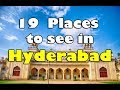 HYDERABAD - Top 19 places to see in Hyderabad || Best places to visit in Hyderabad tourism || INDIA