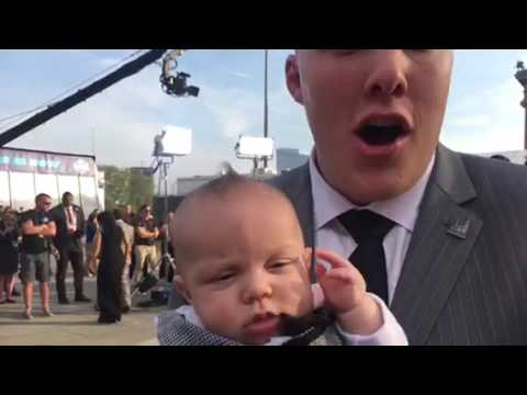Garrett Bolles, Baby Boy Kingston, NFL Draft Red Carpet 2017 #NFLDraft