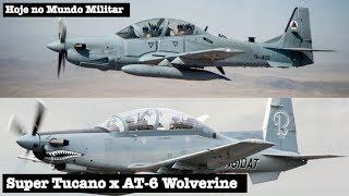 Comparativo: Super Tucano x AT-6 Wolverine