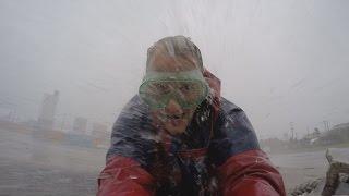 Huge Waves, Rough Sea and Stunning Aerials - Typhoon Chan-hom 4K Stock Footage Screener