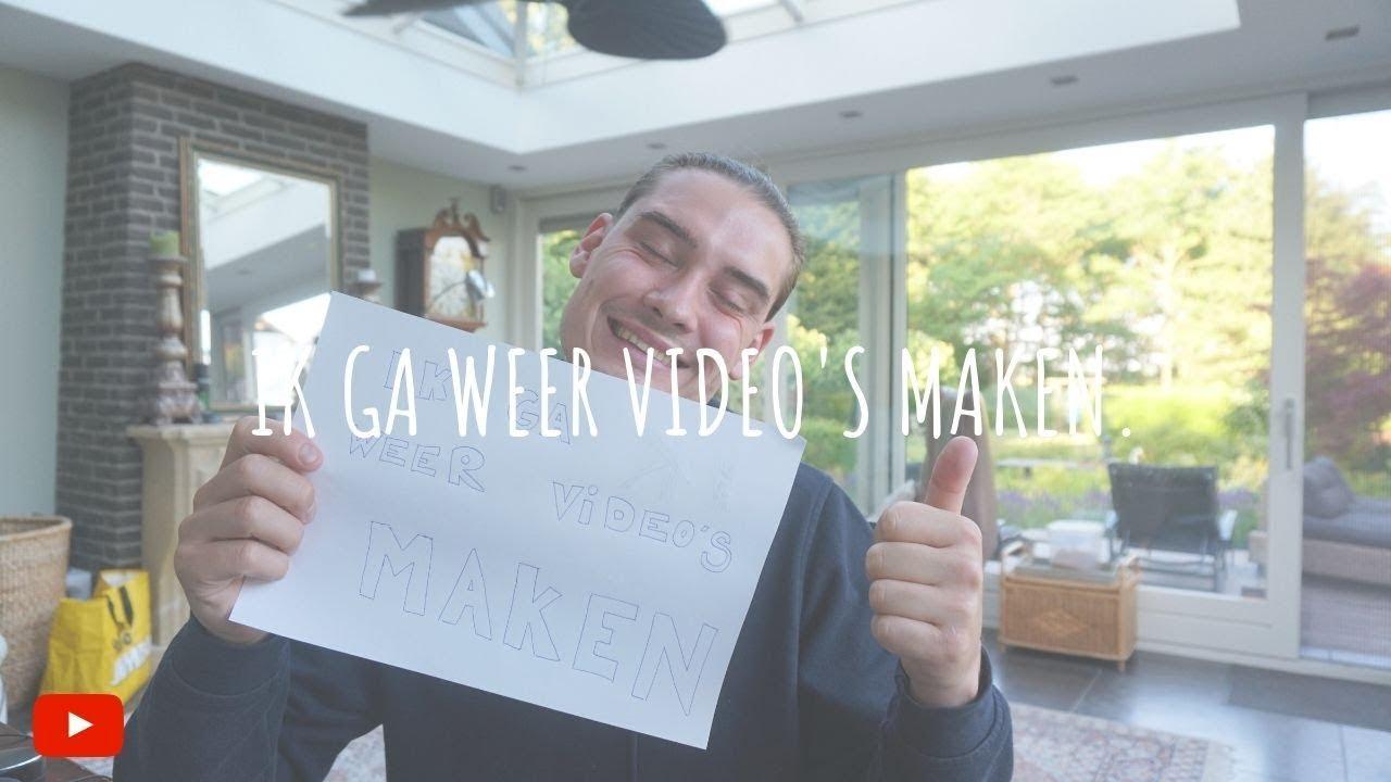 IK GA WEER VIDEO'S MAKEN. #S1E1