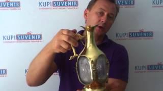 видео Часы с парными вазами
