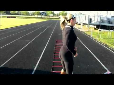Ladder Drills And Sprints Youtube
