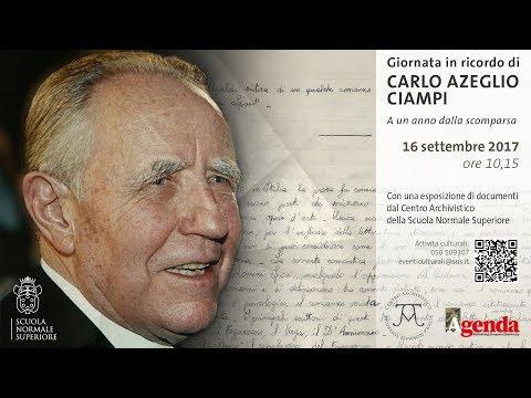Giornata in ricordo di Carlo Azeglio Ciampi - 16 settembre 2017