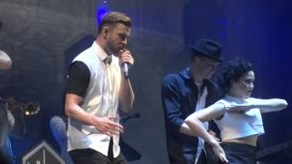 """Justin Timberlake -  """"Holy Grail"""" and """"Cry Me A River"""" - Forum 11.24.14"""