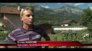 TV 8 Mont Blanc Sujet wingsuit