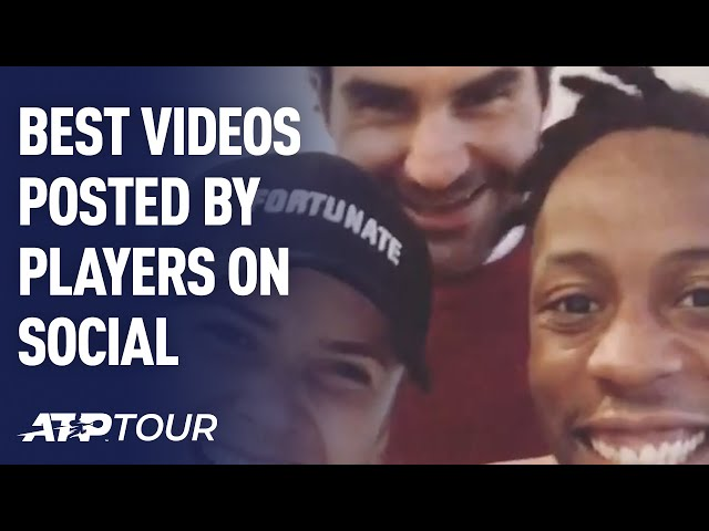 Best Videos Posted By Players On Social Media | ATP