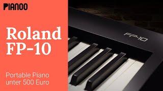Roland FP-10 - Portable Piano für Anfänger und Einsteiger
