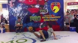 Игорь Олейник Чемпионат по футбольному фристайлу PIO