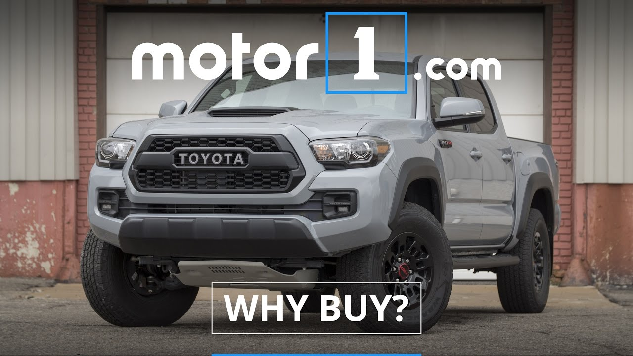 2017 Toyota Tacoma Trd Pro Review You